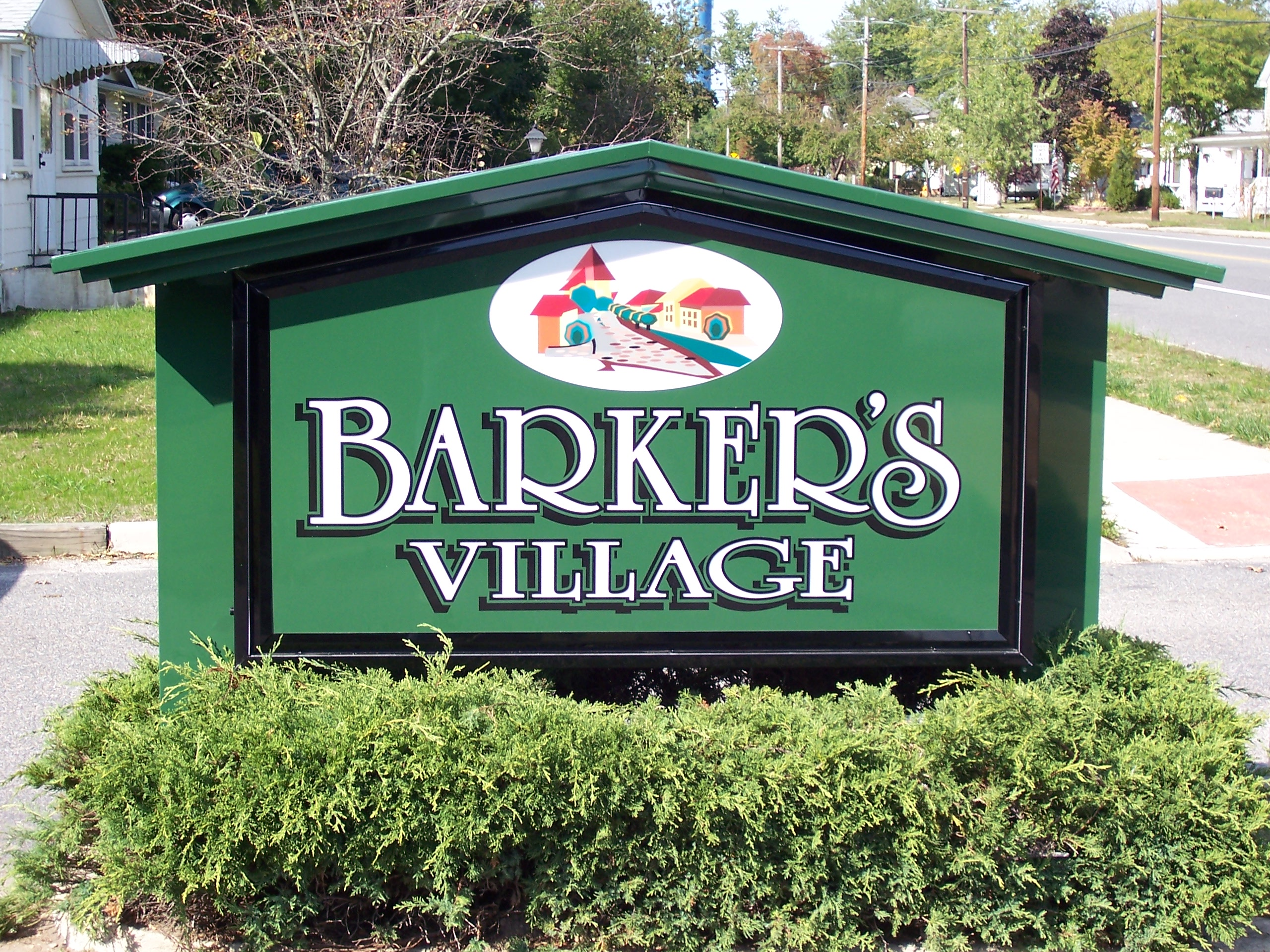 Barkers village day